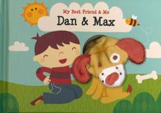 Dan & Max Finger Puppet Book: My Best Friend & Me (Board Book)