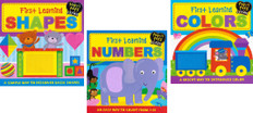 Tiny Tots Learning Set of 3 (Board Book)