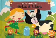 Bella & Clara Finger Puppet Book: My Best Friend & Me (Board Book)