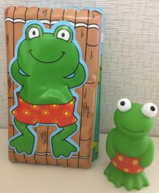 Bathtime Book & Frog Bath Squirty (Bath Book)