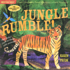 Jungle Rumble! Indestructibles: Chew Proof & Rip Proof (Paperback)