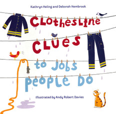 Clothesline Clues to Jobs People Do (Paperback)