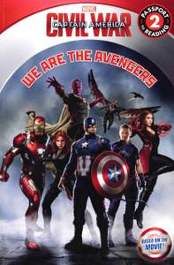 We Are The Avengers: Civil War Captain America Level 2 (Paperback)