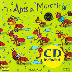 The Ants Go Marching! (Paperback with music CD)