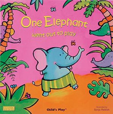 One Elephant Went Out to Play (Giant Paperback)
