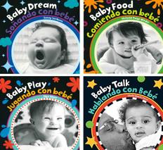 Super Core Baby's Day (EVB)- 40 Books (Spanish English) (Board Book)