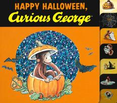 Happy Halloween Curious George (Board Book)