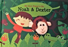 Noah & Dexter Finger Puppet Book: My Best Friend & Me (Board Book)