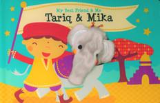 Tariq & Mika Finger Puppet Book: My Best Friend & Me (Board Book)