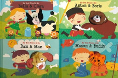 Around The World: Finger Puppet Books Set of 4 (Board Book)
