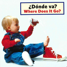 Where Does It Go? (Spanish/English) (Board Book)