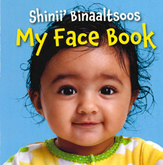 My Face Book (Navajo/English) (Board Book)