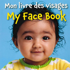 My Face Book (French/English) (Board Book)