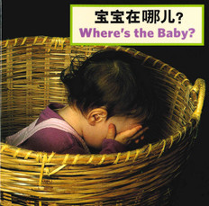 Where's The Baby? Lift-a-Flap: Chinese (Simplified) /English (Board Book)