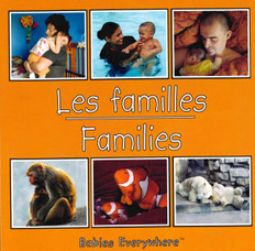 Families/Les Familles (French/English) (Board Book)