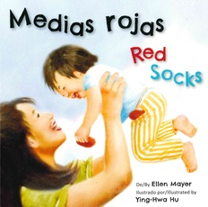 Red Socks/Medias Rojas (Spanish/English) (Board Book)