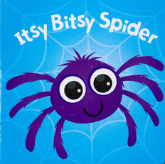 Itsy Bitsy Spider (Chunky Board Book) 3 x 3 x .75 inches