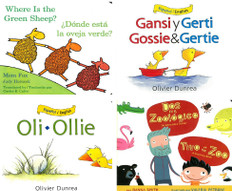Board Book Favorites Set of 4 (Spanish/English)
