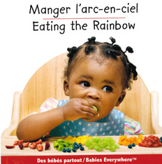 Eating The Rainbow (French/English) (Board Book)