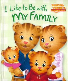 I Like to Be with My Family (Padded Board Book)