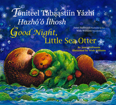 Good Night Little Sea Otter: Navajo/English (Paperback)
