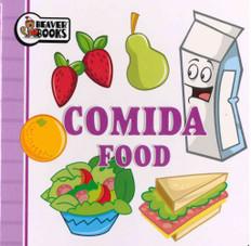 Food (Spanish/English) (Chunky Board Book 3.5 x 3.5 x .25 inches)