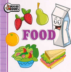 Food (Chunky Board Book) 3.5 x 3.5 x .25 inches