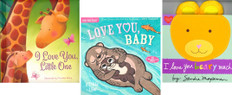 I Love You, Baby! Set of 3 (Board Book & 1 Indestructible)
