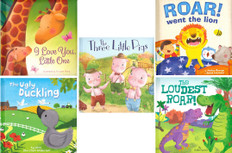 Padded Board Book Favorites!  (BSB)- 25 Books