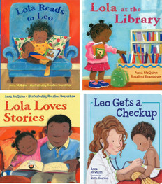 Lola and Leo Set of 4 (Paperback)