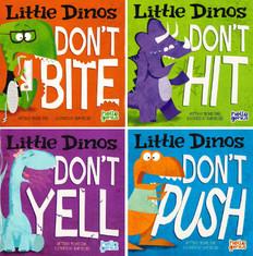 Good Behavior! Little Dinos Set of 4 (Paperback)