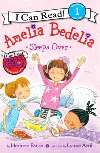 Amelia Bedelia Sleeps Over Level 1 (Paperback)