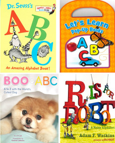 Everyday Alphabet Set of 4