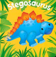 Stegosaurus (Chunky Board Book) 3 x 3 x .75