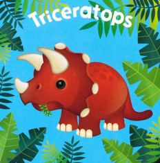 Triceratops  (Chunky Board Book) 3 x 3 x .75