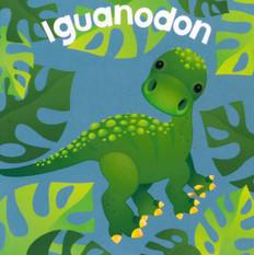 Iguanodon  (Chunky Board Book) 3 x 3 x .75