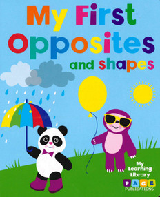 My First Opposites and Shapes (Board Book)