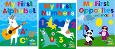 My First Learning Library Set of 3 (Board Book)