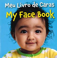 My Face Book (Portuguese/English) (Board Book)