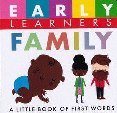 Family: First Words (Chunky Board Book) 3 x 3 x .75 inches