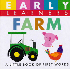 Farm: First Words (Chunky Board Book) 3 x 3 x .75 inches