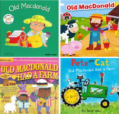The Old Macdonald Set of 4 (Includes 1 INDESTRUCTIBLE)