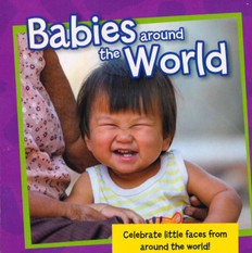 CASE OF 72 - Babies Around the World (Board Book)