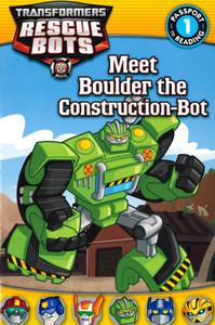 Meet Boulder the Construction-Bot: Transformers Rescue Bots Level 1 (Paperback)