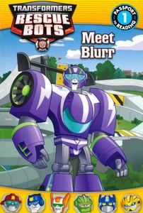 Meet Blurr: Rescue Bots Level 1 (Paperback)