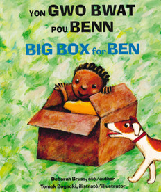 Big Box for Ben (Haitian Creole/English) (Board Book)