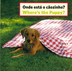 Where's the Puppy? (Portuguese/English) (Board Book)