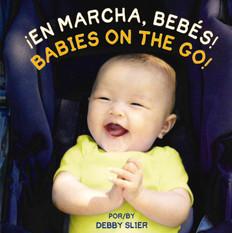 Babies on the Go! (Spanish/English) (Board Book)