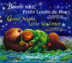Good Night, Little Sea Otter (French/English) (Paperback)