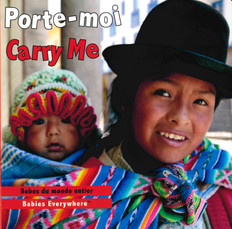 Carry Me (French/English) (Board Book)